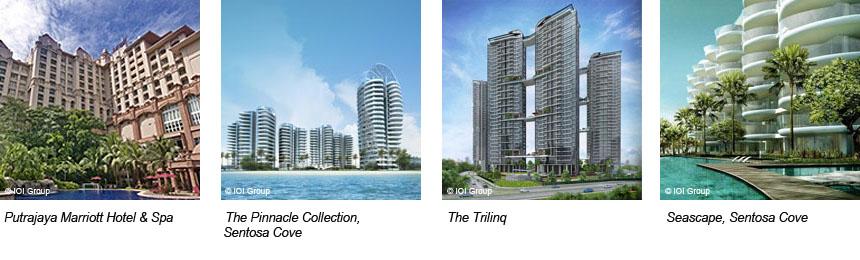 South Beach Residences IOI developer portfolio