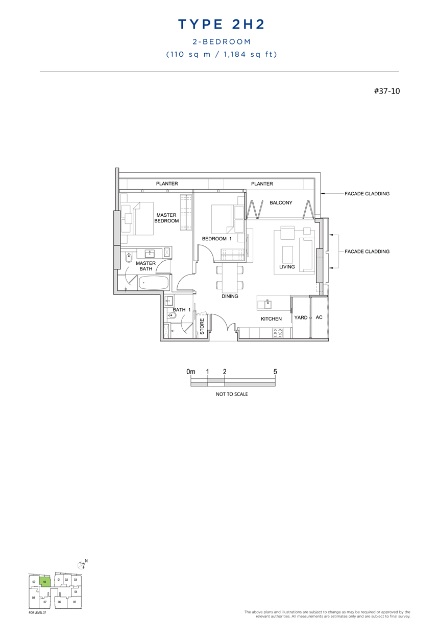 2H2 floor plan south beach residences