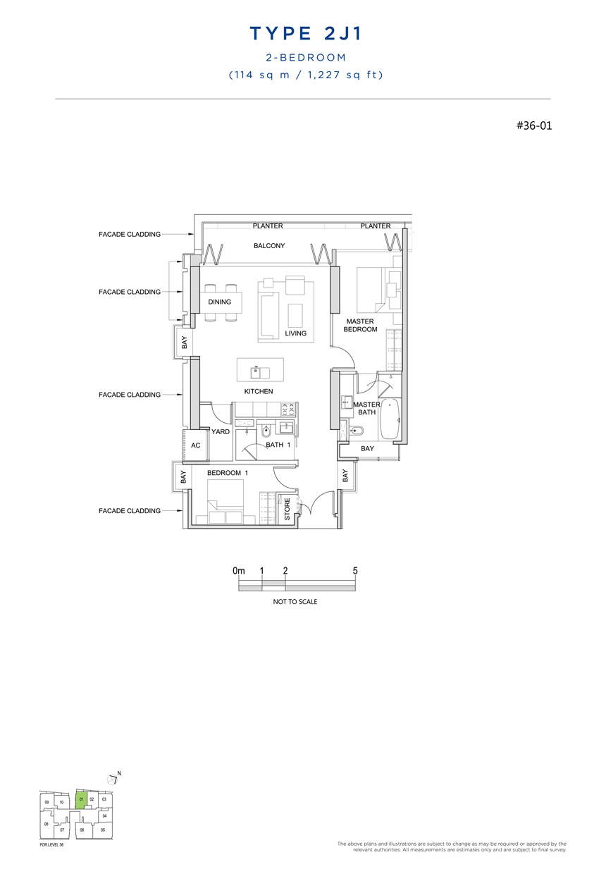 2J1 floor plan south beach residences