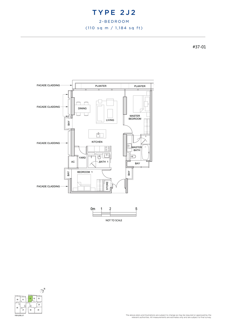 2J2 floor plan south beach residences