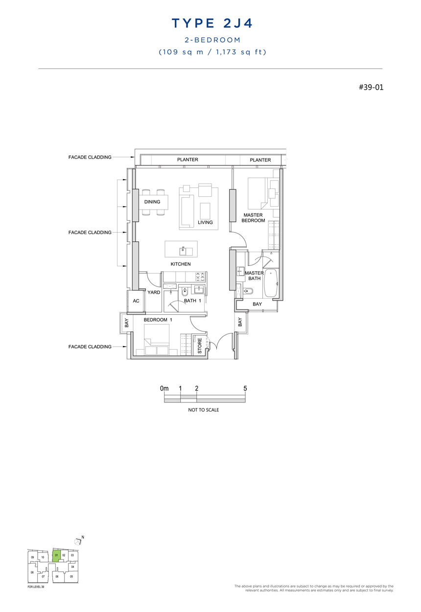 2J4 floor plan south beach residences